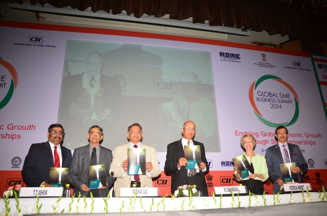 "The report ""The New Wave Indian MSME: An Action Agenda for Growth"" was released by Mr Madhav Lal at the Session."